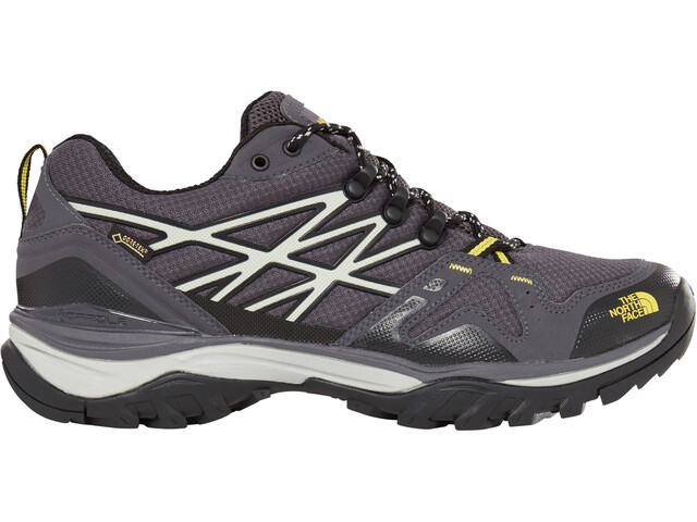 The North Face Hedgehog Fastpack GTX Chaussures Homme, blackened pearl/acid yellow